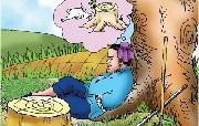 Ôm cây đợi thỏ - Truyện ngụ ngôn