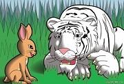 Bản chất - Con Hổ và  Con Thỏ | Truyện ngụ ngôn hay