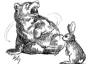 Bài học nhớ đời - Chuyện Gấu, Thỏ và Muỗi   Truyện ngụ ngôn
