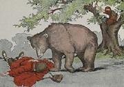Con gấu và hai người bạn   Truyện ngụ ngôn hay