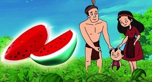 Truyện cổ tích: Sự tích trái dưa hấu
