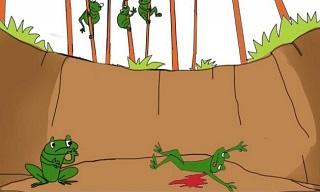 Sức mạnh của lời nói - chuyện hai con ếch