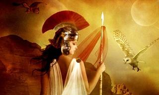 nữ thần athena thần thoại hy lạp