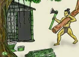 chàng đốn củi và con tinh